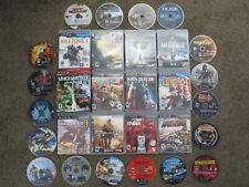 HUGE Lot of 45 PS3 + PS2 Games: Uncharted+Mass Effect+Motorstorm+MGS+MW2 bundle