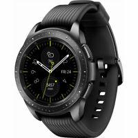 NEW!! Samsung Galaxy Watch 42mm GPS SM-R810 Black Smartwatch Bluetooth WIFI