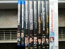 13x James Bond - DVD+Blu-Ray Sammlung