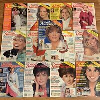 1978 1979 1980 GOOD HOUSEKEEPING MAGAZINE LOT OF 13 ISSUES - Ships Free