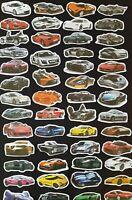 RACING CAR Stickers Vinyl Skate Laptop PC Art Kids Party Treat F1 Boys Reward