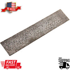 10 inch Hand Forged Damascus Steel Billet Bar Knife Making
