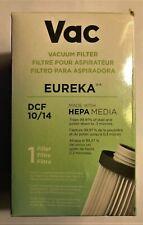 Eureka DCF 10/14 Vacuum Filter with HEPA MEDIA Captures 99.97% Dust