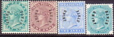 1885 INDIA JIND SG 1-4 MH(#4 is MNG) set to 4a CV £225