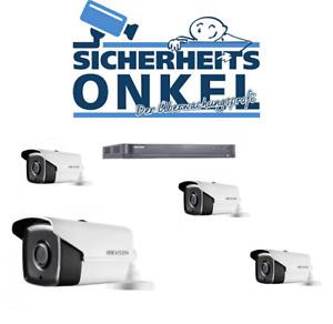 HikVision PoC DVR TVI Komplettset mit 4 Kameras