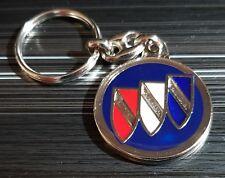 Buick llavero azul vidriado-medida emblema 36mm