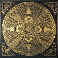 Mantra Mandala Stupa - Handmade Thangkas