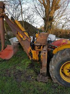 MF massey ferguson rear excavator/digger  to fit mf135 - 240 - 250 tractors