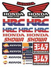 Repsol HRC Racing Motorrad Abziehbild Aufkleber CBR 600RR 1000RR / 154