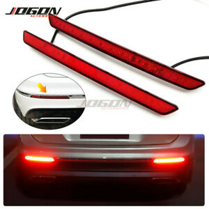 LED Dynamic Turn Signal Light Rear Bumper Fog Lamp For VW Tiguan 2 MK2 2017-2020