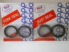 K&S Technologies Fork Oil Seal & Dust Seal Kit KTM 48mm 57.7mm 9.5mm 64K/59K
