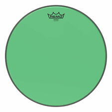 """Remo Emperor Colortone Green Drumhead 15"""""""