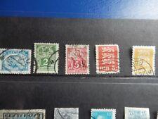 10 Old Estonia Stamps