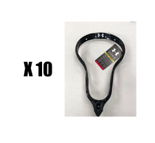 10 pack Under Armour Charge Super Stiff NFHS mens head unstrung lacrosse New