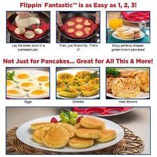 2017 Modern Silicone Omelette Mould Pancake Molds Pan Make Maker Panicakes
