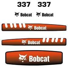 Bobcat 337 Decals - Repro Sticker Kit Mini Excavator