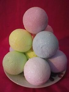 6 LARGE BATH BOMBS Fizzy  Limited Offer