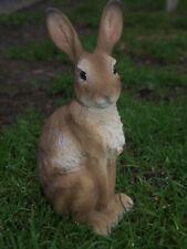 Kaninchen-Hase- Deko-Figur 24cm Gartendeko sitzend Garten NEU