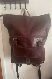 Leather backpack,Leather backpack women,leather backpack men ,brown leather bag.
