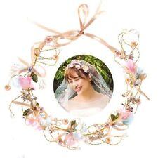 mariée couronne florale mariage garland couronnes fleur, bande de cheveux