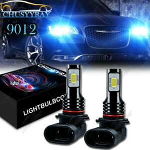 For Chrysler 200 300 2011-2015 - 2PC 8000K LED Headlight Kit High/Low Beam Bulbs