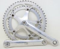 CAMPAGNOLO CHORUS CRANKSET 172.5mm 53/41 AS [71] 1991 90s VINTAGE SQUARE TAPER