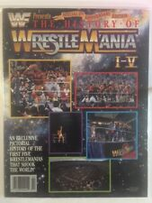WWF Magazine 1990 - The History of Wrestlemania I-V Hulk Hogan  WWE RARE!