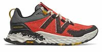 New Balance Women's Fresh Foam Hierro v5 Trail Shoes Red with Black & Yellow