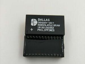 DS1220Y-120 DS1220Y-120+ 16k Nonvolatile SRAM DIP24 x 5PCS NEW