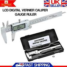 6 Inch Digital Vernier Caliper 150mm Stainless Steel Micrometer Electronic Tool