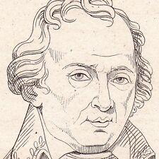 Portrait XIXe Charles-François Dupuis Trie le Château Oise Astronomie Astronome