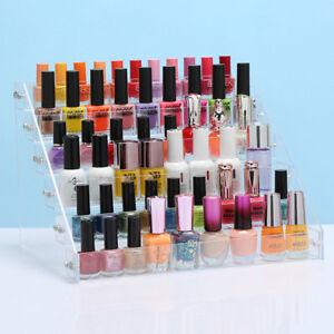 6 Tier Clear Acylic Polish Varnish nail polish stand Holder Cabinet Organizer