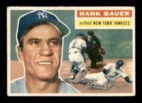 1956 Topps Set Break #177 Hank Bauer VG *OBGcards*