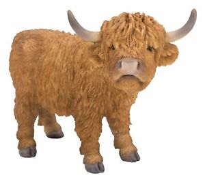 Highland Cattle - Lifelike Ornament Gift - Indoor or Outdoor - Pet Pals NEW