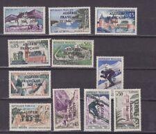 algeria 1958 optd, ten unissued stamps,MNH        l2460