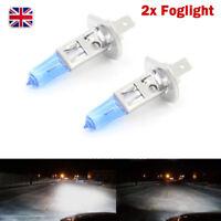 2X White Car Halogen Xenon H1 12V 55W 100W Head Light Fog Light Bulb HID 6000K