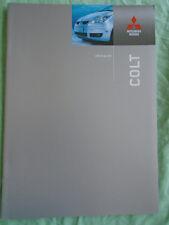 Mitsubishi Colt range brochure Jan 2005 Irish market