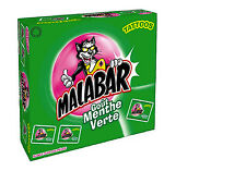 Malabar Green Mint Flavored Chewing Gum from France 200 piece box