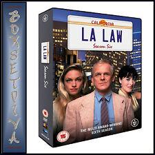 LA LAW - COMPLETE SERIES SEASON 6 **BRAND NEW DVD **