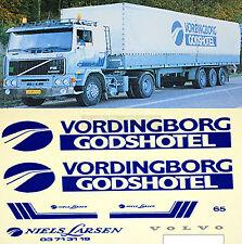 Volvo Vordingborg Godshotel Danemark (DK) 1:87 camion autocollant Décalcomanie