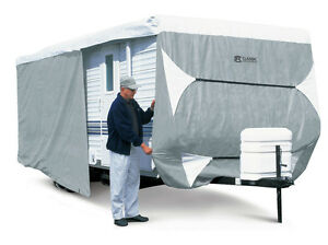 Classic Accessories PolyPro III Deluxe Travel Trailer camper Cover 24' - 27' L