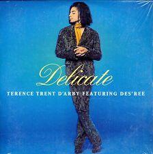 CD CARTONNE CARDSLEEVE 2T TERENCE TRENT D'ARBY feat DES'REE DELICATE DE 1993 TBE
