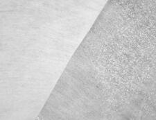 WHITE MEDIUM VILENE FUSIBLE INTERFACING IRON ON 100CM WIDE X ONE METER