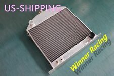 "22"" Aluminum Alloy Custom Radiator Ford model A chopped w/Chevy engine 1930 1931"