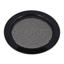 6cm Dia Dobro Resonator Screen Guitar Sound Hole Insert Set Grill Black