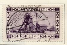 Saar 1927 Early Issue Fine Used 1F. 150342