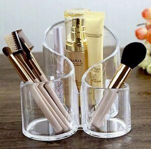 Makeup Organiser Brush Holder Acrylic Cosmetic Makeup Brush Storage
