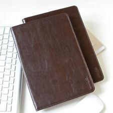 Luxus Leder Smartcover für Apple iPad 2 3 4 Tablet Schutzhülle Case Tasche brown