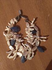 Designer Pearl Gerda lynggaard 2 Trefolo Collana fondi Sea Shell Gioielli £ 395