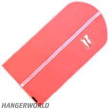 "3 Pink Girls Breathable Dress Covers Clothes Garment Dance Bag 38"" Hangerworld"